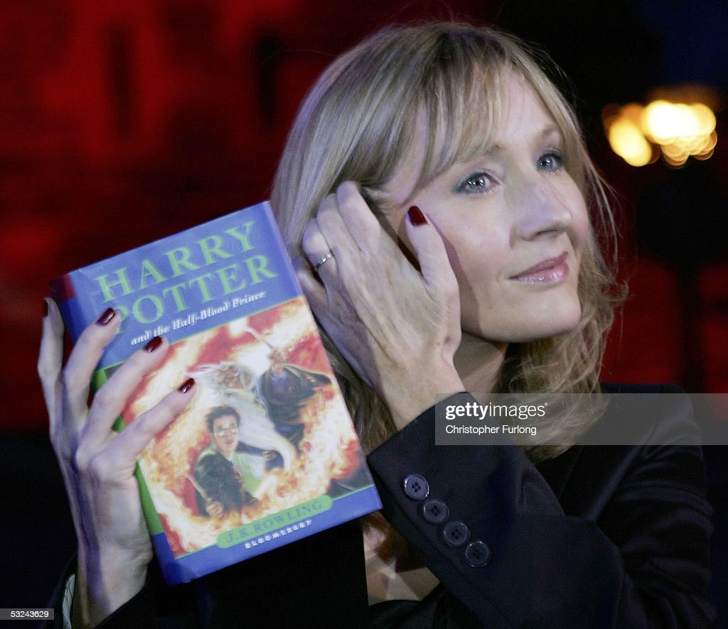 J K Rowling Reads From New Harry Potter Book : News Photo