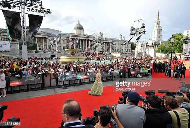 Harry Potter author JK Rowling attends the world premiere of Harry Potter and the Deathly Hallows Part 2 in central London on July 7 2011 Thousands...