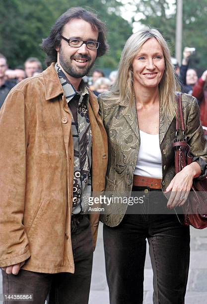 Harry Potter Author JK Rowling with husband Neil Murray attending the latest film from Actress Sigourney Weaver and Alan Rickman ' Snow Cake' The...
