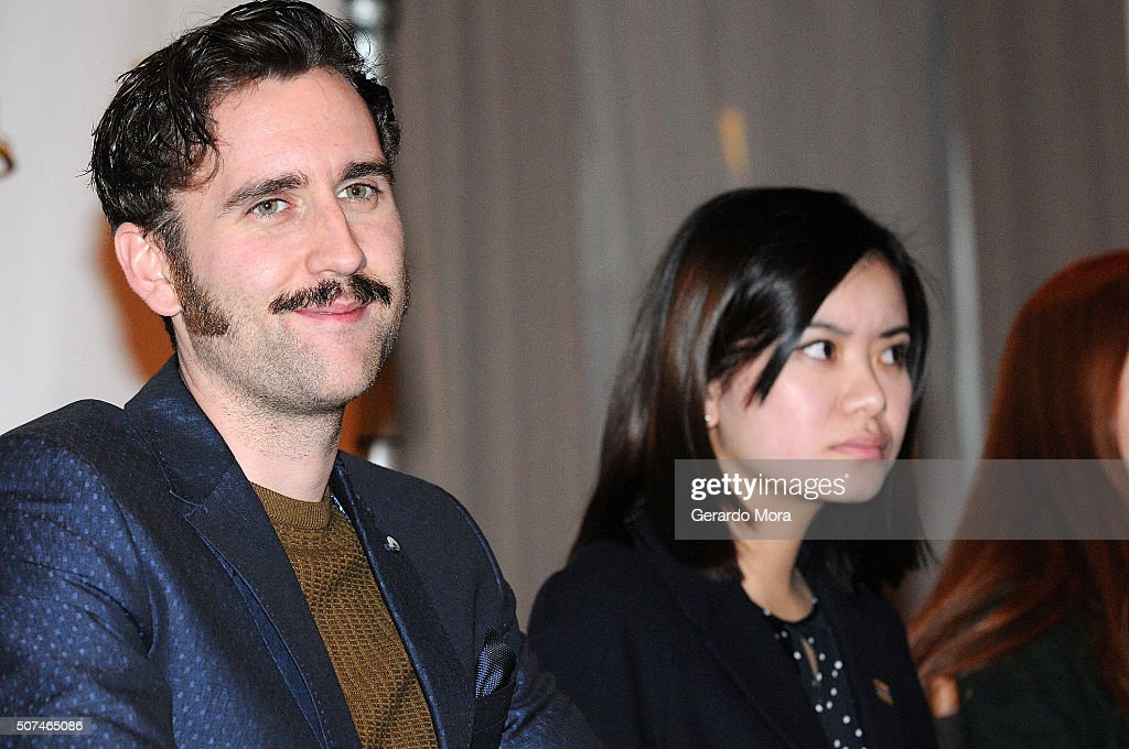 'Harry Potter' cast members Matthew Lewis (L) and Katie Leung attend the 3rd Annual Celebration Of Harry Potter at Universal Orlando on January 29, 2016 in Orlando, Florida.