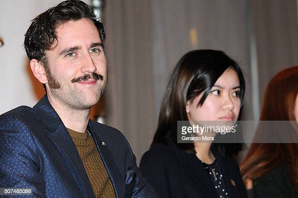 'Harry Potter' cast members Matthew Lewis and Katie Leung attend the 3rd Annual Celebration Of Harry Potter at Universal Orlando on January 29 2016...
