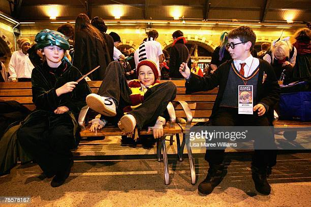 Harry Potter fans prepare to take a steam train from Sydney Central Station to a secret location for the much anticipated unveiling of the final...