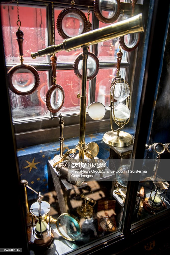 Harry Potter Items Inside One Of The Stores In Hogsmeade Village At News Photo Getty Images