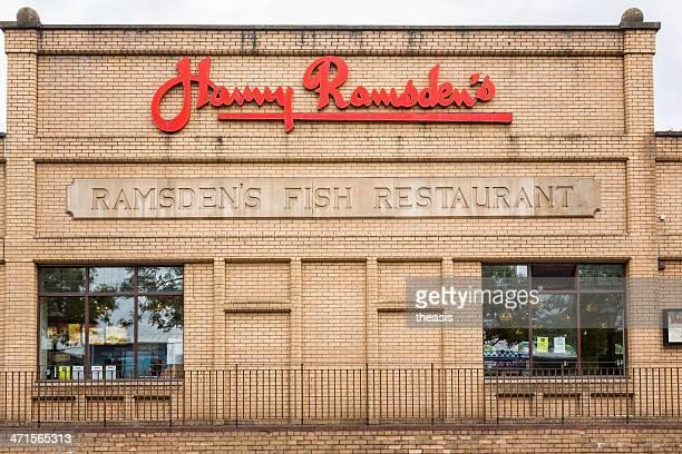 harry ramsden restaurante fish, glasgow - theasis photos et images de collection