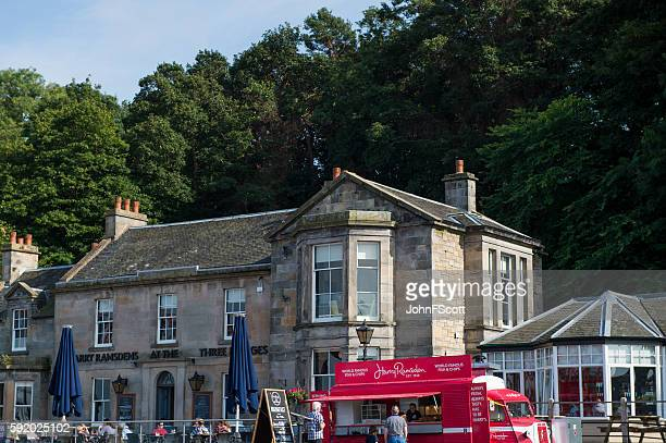 Harry Ramsdens fish and chip restaurant in south Queensferry, Scotland