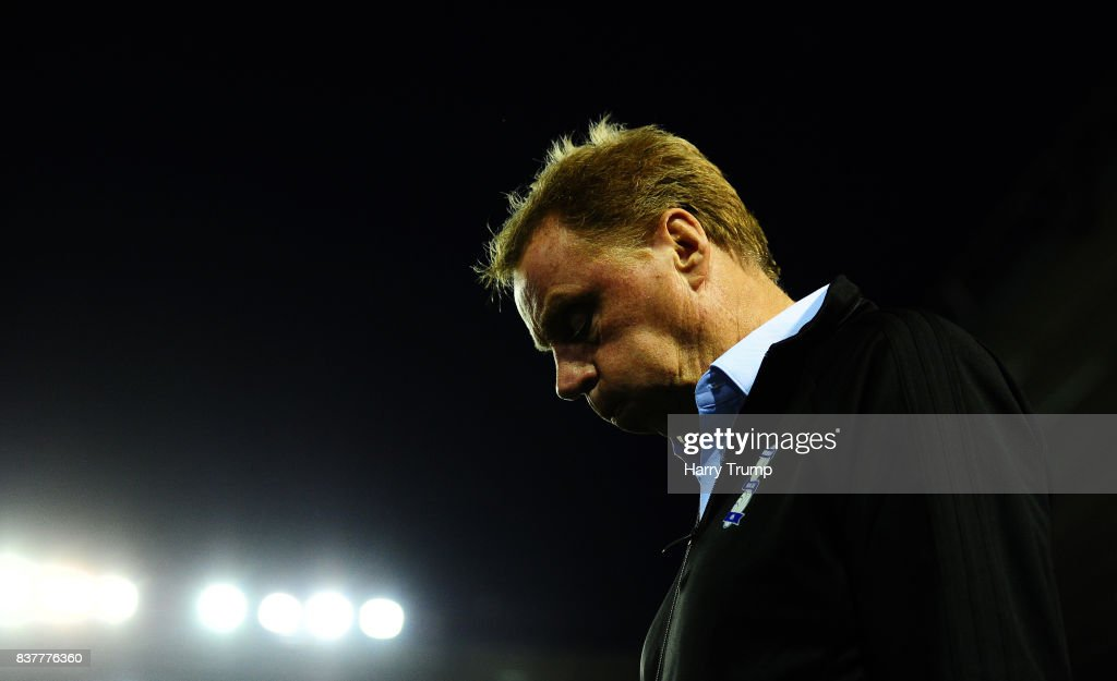 Harry Redknapp, Manager of Birmingham City during the Carabao Cup Second Round match between Birmingham City and AFC Bournemouth at St Andrews Stadium on August 22, 2017 in Birmingham, England.