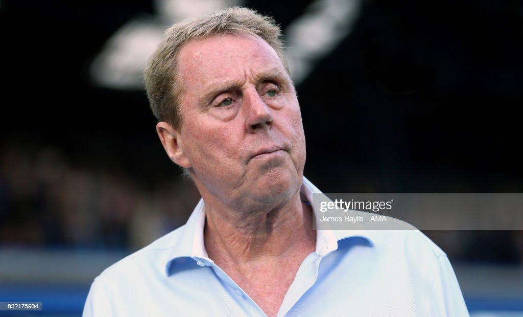 Harry Redknapp manager of Birmingham City during the Sky Bet Championship match between Birmingham City and Bolton Wanderers at St Andrews (stadium) on August 15, 2017 in Birmingham, England.
