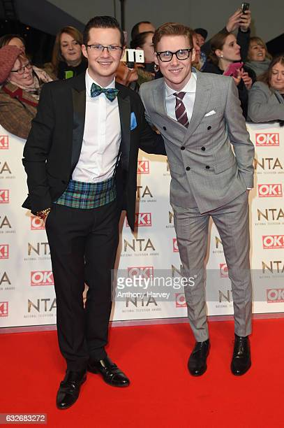 Harry Reid and Jamie Borthwick attends the National Television Awards on January 25 2017 in London United Kingdom