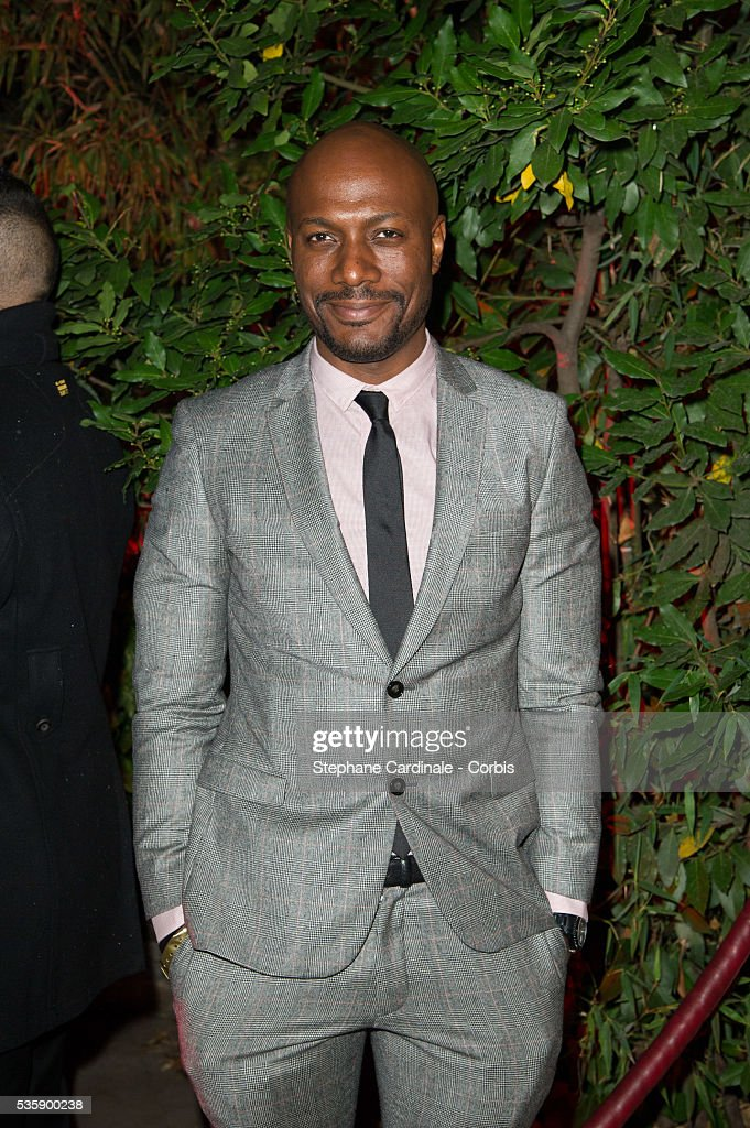 Harry Roselmack attends the 'Mademoiselle C' Party at Pavillon Ledoyen, as part of the Paris Fashion Week Womenswear Spring/Summer 2014, in Paris.