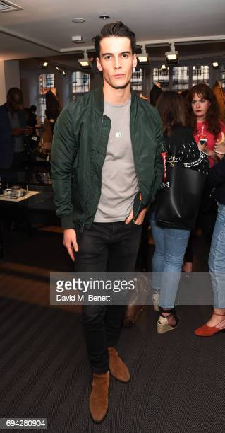 Harry Rowley attends the dunhill London presentation during the London Fashion Week Men's June 2017 collections on June 9 2017 in London England