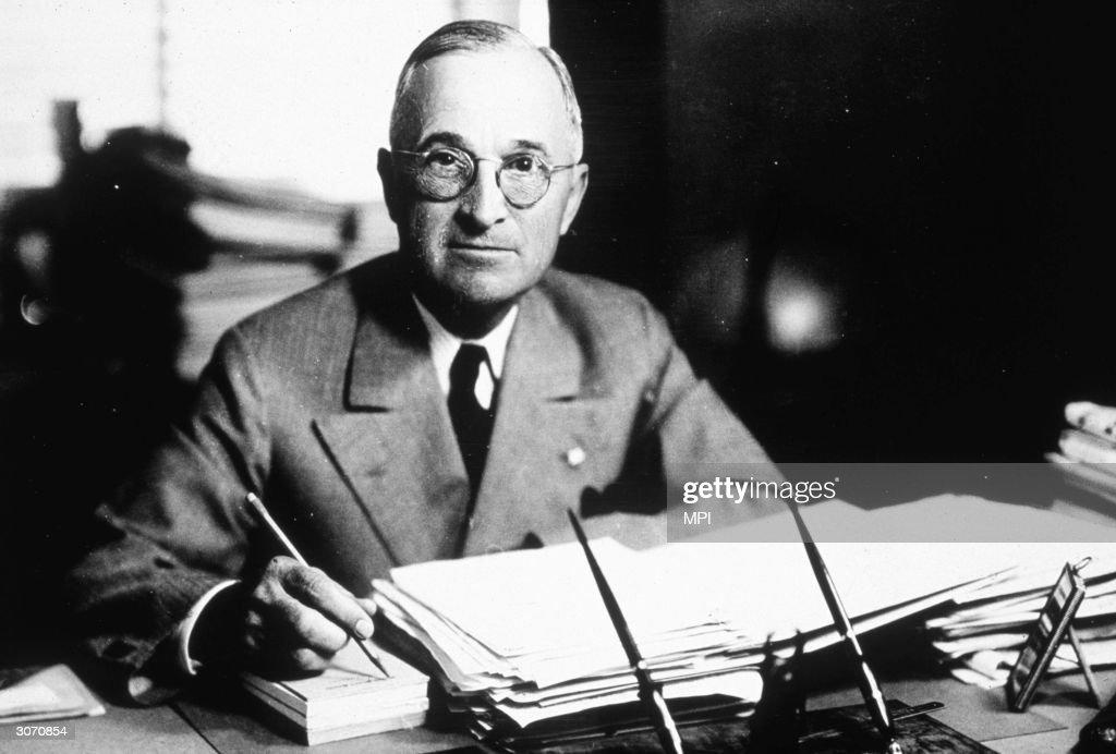 Harry S Truman : News Photo