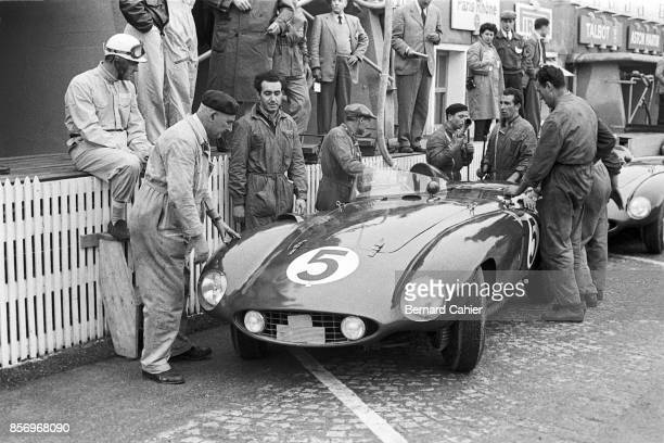 Harry Schell 24 Hours of Le Mans Le Mans 06 December 1955