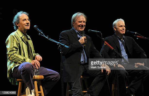 Harry Shearer Michael McKean and Christopher Guest announce their Unwigged Unplugged Tour at the House of Blues on March 2 2009 in Hollywood...