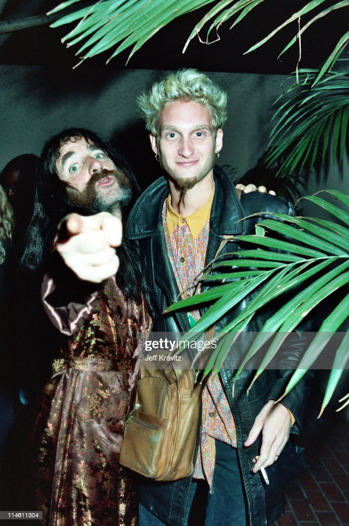 Harry Shearer of Spinal Tap with Layne Staley of Alice in Chains