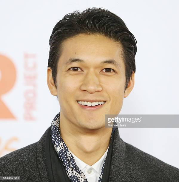 Harry Shum Jr arrives at the 15th Annual Trevor Project Benefit held at Hollywood Palladium on December 8 2013 in Hollywood California