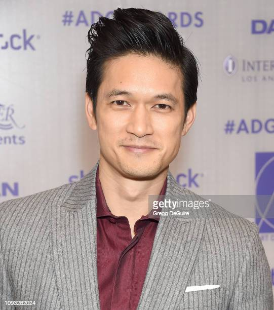 Harry Shum Jr arrives at the Art Directors Guild 23rd Annual Excellence In Production Design Awards at InterContinental Los Angeles Downtown on...