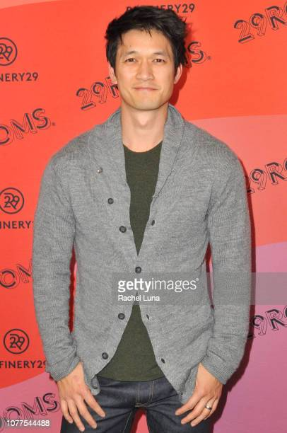 Harry Shum Jr attends Refinery29's 29Rooms Los Angeles 2018 Expand Your Reality at The Reef on December 04 2018 in Los Angeles California