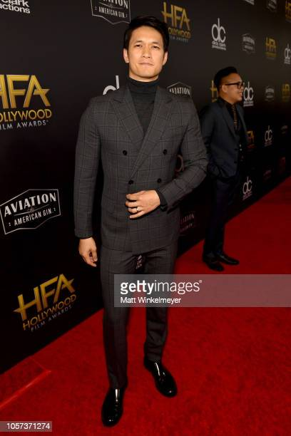 Harry Shum Jr attends the 22nd Annual Hollywood Film Awards at The Beverly Hilton Hotel on November 4 2018 in Beverly Hills California