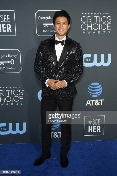 Harry Shum Jr attends the 24th annual Critics' Choice Awards at Barker Hangar on January 13 2019 in Santa Monica California
