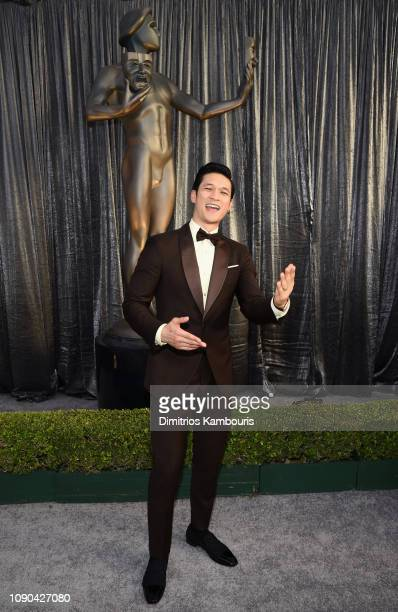 Harry Shum Jr attends the 25th Annual Screen Actors Guild Awards at The Shrine Auditorium on January 27 2019 in Los Angeles California 480595