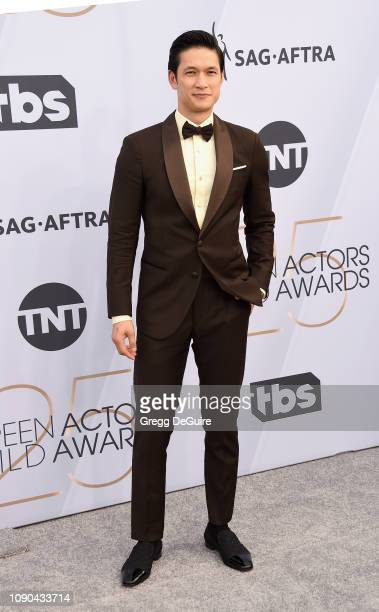 Harry Shum Jr attends the 25th Annual Screen Actors Guild Awards at The Shrine Auditorium on January 27 2019 in Los Angeles California 480645
