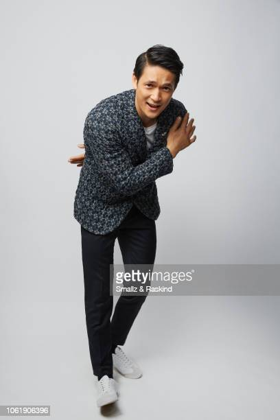 Harry Shum Jr poses for a portrait during the 2018 People's Choice Awards at The Barker Hanger on November 11 2018 in Santa Monica California