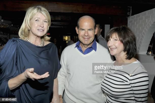 Harry Slatkin Martha Stewart Jeffrey Rosen and Marjorie Rosen attend MARTHA STEWART and HARRY SLATKIN Birthday Celebration and Dinner at NAVY BEACH...