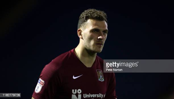 Harry Smith of Northampton Town in action during the Sky Bet League Two match between Carlisle United and Northampton Town at Brunton Park on October...