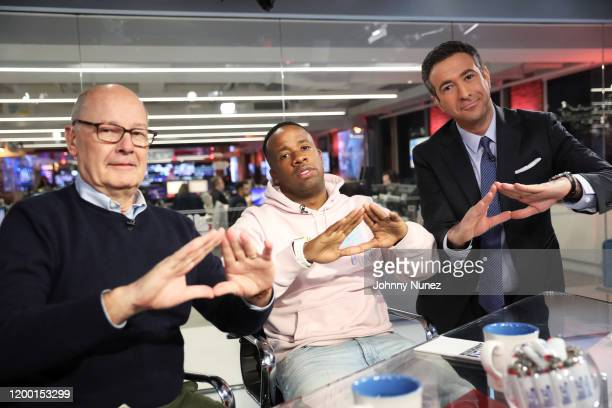 Harry Smith Yo Gotti and Ari Melber visit The Beat With Ari Melber on January 17 2020 in New York City