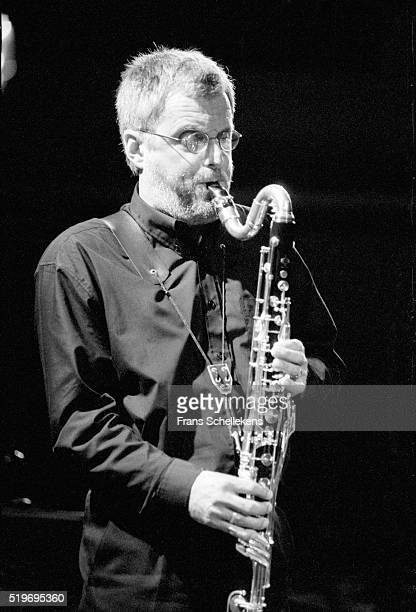 Harry Sparnaay, bass-clarinet, performs on September 27th 1998 at the BIM huis in Amsterdam, Netherlands.
