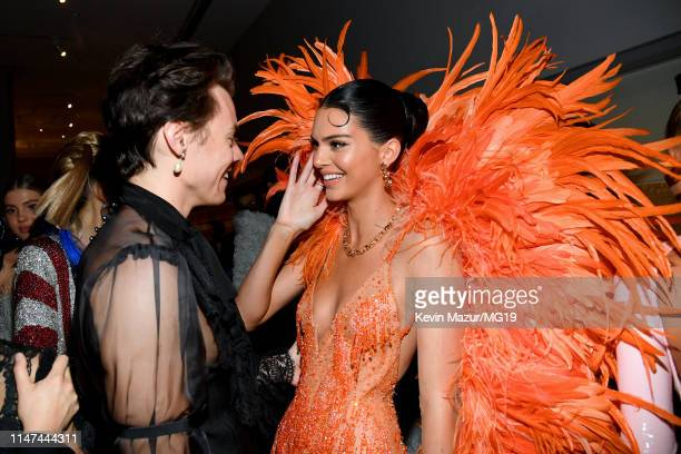 Harry Styles and Kendall Jenner attend The 2019 Met Gala Celebrating Camp Notes on Fashion at Metropolitan Museum of Art on May 06 2019 in New York...