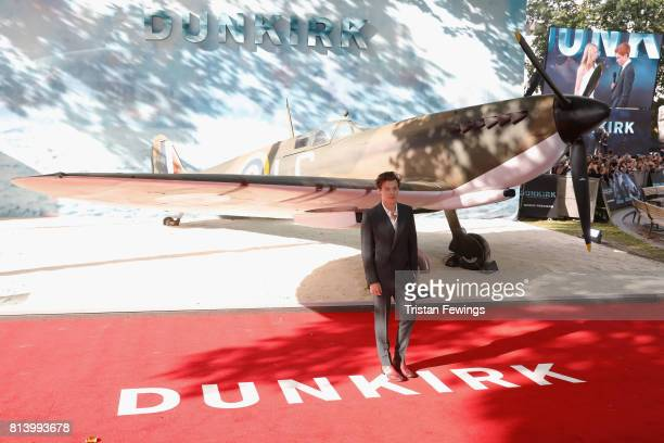 Harry Styles arrives at the 'Dunkirk' World Premiere at Odeon Leicester Square on July 13 2017 in London England