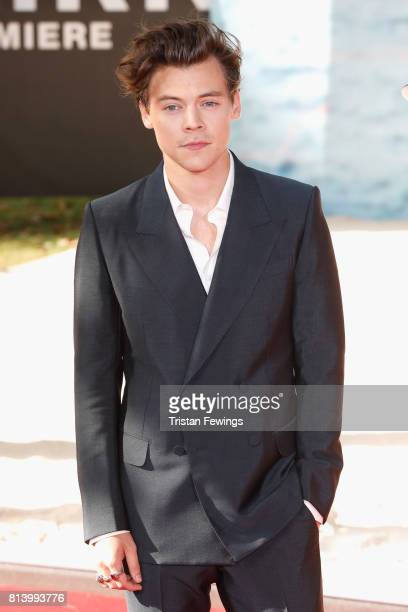 Harry Styles arrives at the 'Dunkirk' World Premiere at Odeon Leicester Square on July 13, 2017 in London, England.