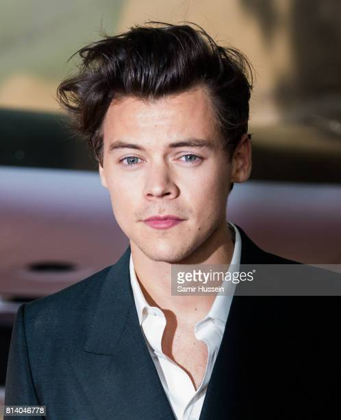Harry Styles arriving at the Dunkirk World Premiere at Odeon Leicester Square on July 13 2017 in London England
