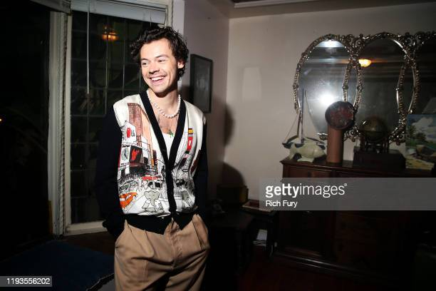 Harry Styles attends Spotify Celebrates The Launch of Harry Styles' New Album With Private Listening Session For Fans on December 11 2019 in Los...