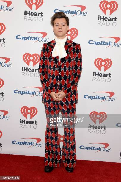 Harry Styles attends the 2017 iHeartRadio Music Festival at T-Mobile Arena on September 22, 2017 in Las Vegas, Nevada.
