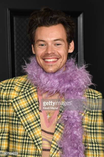 Harry Styles attends the 63rd Annual GRAMMY Awards at Los Angeles Convention Center on March 14, 2021 in Los Angeles, California.