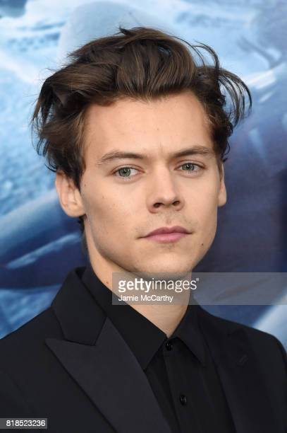 Harry Styles attends the DUNKIRK New York Premiere on July 18 2017 in New York City