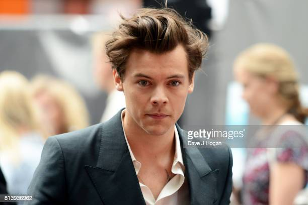 Harry Styles attends the world premiere of Dunkirk at Odeon Leicester Square on July 13 2017 in London England