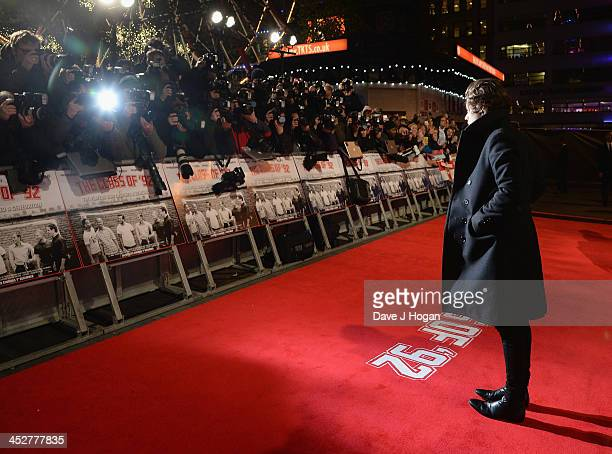 Harry Styles attends the World premiere of The Class of 92 at Odeon West End on December 1 2013 in London England