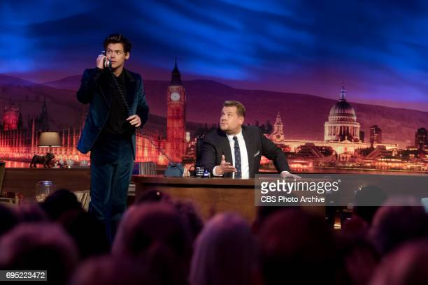 Harry Styles chats with James Corden on 'The Late Late Show with James Corden' airing Thursday June 8th 2017 from London On The CBS Television Network