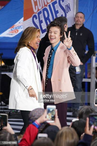 Harry Styles is seen on February 26 2020 in New York City