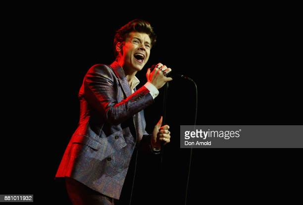 Harry Styles performs during the 31st Annual ARIA Awards 2017 at The Star on November 28 2017 in Sydney Australia
