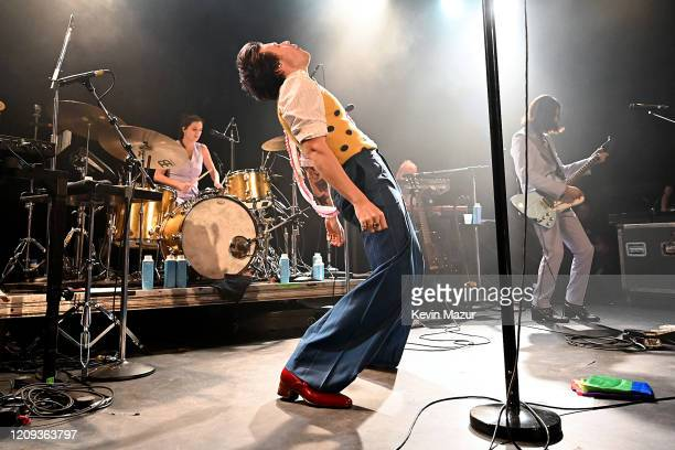 Harry Styles performs for SiriusXM and Pandora in New York City at Music Hall of Williamsburg on February 28 2020