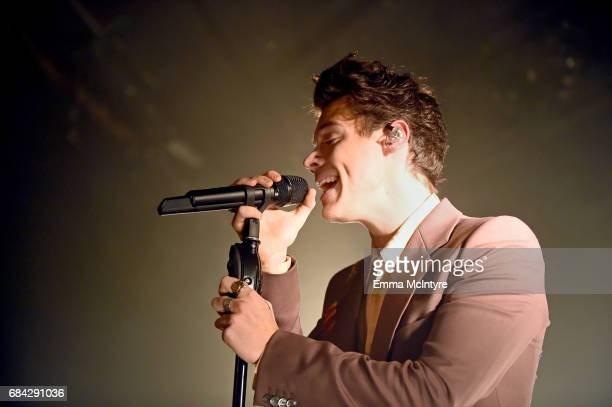 Harry Styles performs for SiriusXM from The Roxy Theatre on May 17 2017 in West Hollywood California