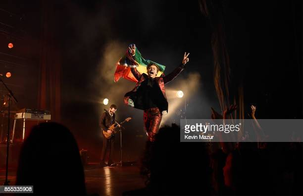 Harry Styles performs onstage at Radio City Music Hall on September 28 2017 in New York City