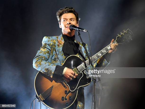 Harry Styles performs onstage at The Greek Theatre on September 20 2017 in Los Angeles California