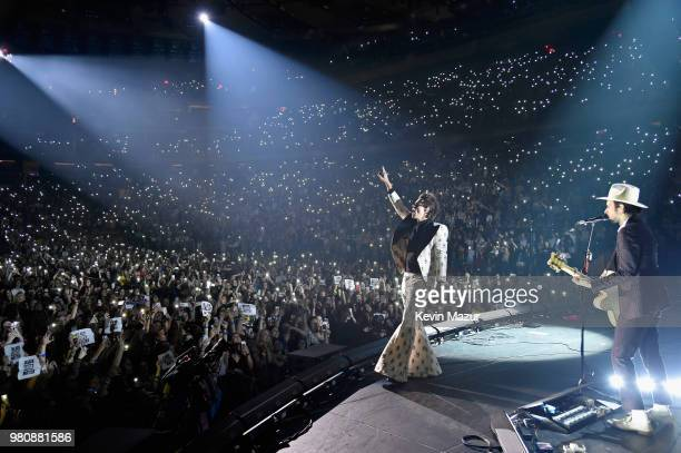 Harry Styles performs onstage during Harry Styles: Live On Tour - New York at Madison Square Garden on June 21, 2018 in New York City.