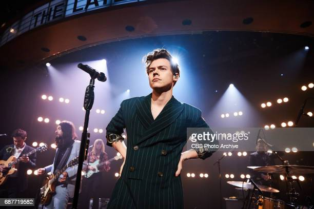 Harry Styles performs The Late Late Show with James Corden Thursday May 18 2017 On The CBS Television Network