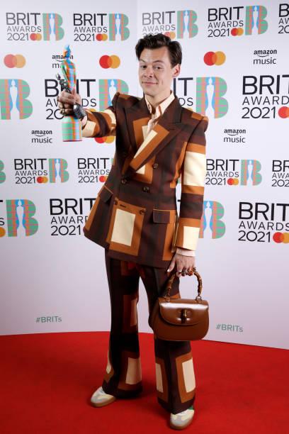 GBR: The BRIT Awards 2021 - Media Room